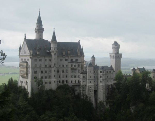 "Neuschwanstein Castle, the ""Sleeping Beauty"" Castle"